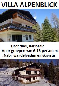 Vakantiehuis in Karinthië voor groepen van 6-18 personen. Nabij wandelpaden en skilift.